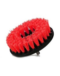 ACC_201_BRUSH_HD  Brush With Drill Adapter Heavy-Duty (Red)