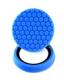 CHEMICAL GUYS HEX LOGIC 7.5 INCH BLUE SOFT POLISHING PAD