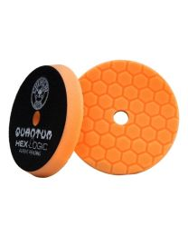 "CarCare24.eu BUFX_112_HEX5 5,5"" HEX-LOGIC QUANTUM BUFFING PAD ORANGE"