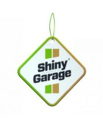 SHINY GARAGE APPLE AND CINNAMON HANGING AIR FRESHENER