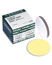 KOVAX YELLOW FILM 2000 GRIT 75MM 50-PACK