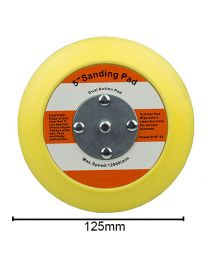 Carcare24.eu BUFLC_BP_DA_5.1 Flexible Backing Plate For Dual Action Polisher 5 125mm