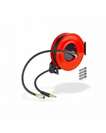 KE AIR HOSE REEL 15M GREY