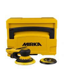 MIRKA DEROS 650 / 550 IN SYSTAINER INCL 125MM BACKING PLATE