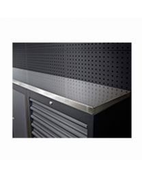 BOXO STAINLESS STEEL WORK TOP 1725X500X40MM