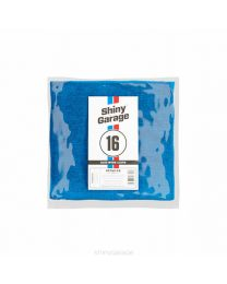 SHINY GARAGE BLUE WORK CLOTH 40X40CM 300G