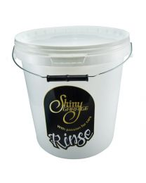 SHINY GARAGE RINSE BUCKET WITH LEAD 15L