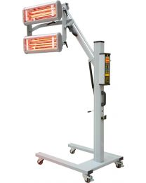 INFRARED SHORT WEAVE PAINT DRYER 200X GOLD 2 X 1100W