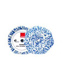 RUPES TWISTED WOOL PAD WIT / BLAUW 125MM