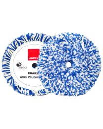 RUPES TWISTED WOOL PAD WIT / BLAUW 165MM