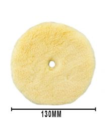 RUPES YELLOW MEDIUM WOOL POLISHING PAD 130MM