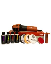 FLEX PE8 KOMPAKT ROTARY POLISHER KIT