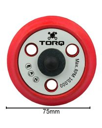 CarCare24.eu BUFLC_200 Torq R5 Dual Action Red Backing Plate 3Inch 74MM
