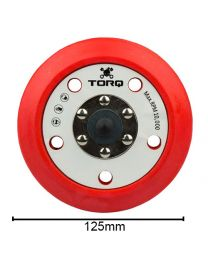 CarCare24.eu BUFLC_201 Torq R5 Dual Action Red Backing 5Inch 125MM
