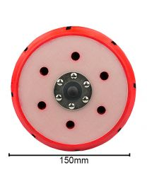 CarCare24.eu BUFLC_202 Torq R5 Dual Action Red Backing Plate 6 Inch 150mm
