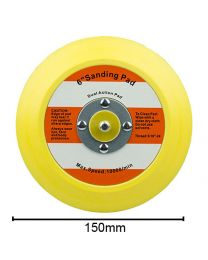CHEMICAL GUYS BUFLC_BP_DA_6.1 FLEXIBLE BACKING PLATE FOR DUAL ACTION POLISHER 6""