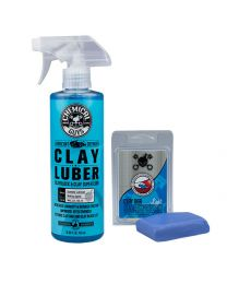 Chemicalguys.eu CLY_109 Clay Bar Blue & Luber Kit (Light Duty) (2Items)