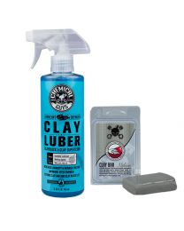 Chemicalguys.eu CLY_KIT_200 Clay Bar Gray Luber Medium 2 Items
