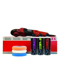 FLEX PE14-2-150 ROTARY POLISHER STANDARD KIT (7 ITEMS)