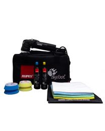 chemicalguys.eu LHR_75E Rupes Bigfoot Mini Orbital Polisher Lhr75e Deluxe (Dlx) Kit (13 Items)