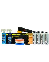 NO SWIRLS! HP V2 880W DUAL ACTION POLISHER ADVANCED KIT (18 ITEMS)