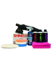 NO SWIRLS! XTREME S15 (KRAUSS) DUAL ACTION (DA) POLISHER POLISHING KIT (12 ITEMS)