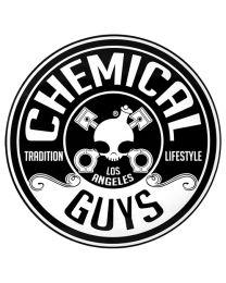 CHEMICAL GUYS EMBOSSED METAL TIN SIGN