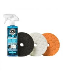 HEX-LOGIC QUANTUM 5.5 INCH BUFFING PAD SAMPLER KIT