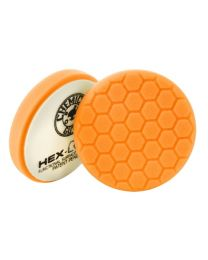 HEX LOGIC 4 INCH ORANGE MEDIUM CUTTING PAD