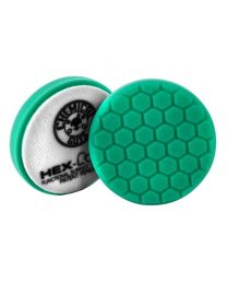 Carcare24.eu BUFX_103HEX4  Hex Logic 4 Inch Green Heavy Polishing Pad