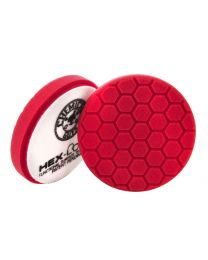 Carcare24.eu BUFX_107HEX5  Hex Logic 5,5 Inch Red Finesse Finishing Pad