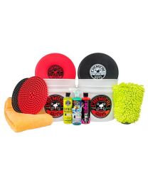 CHEMICAL GUYS DEUX SEAU LAVER ET SÉCHER KIT (11 ITEMS)