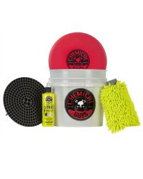 ChemicalGuys.eu HOL_127 CHEMICAL GUYS WASH & WAX DETAILING BUCKET KIT (6 ITEMS)