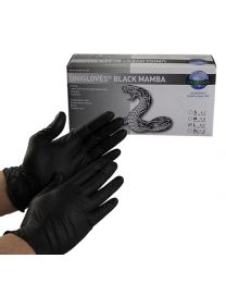 BLACK MAMBA DETAILING GLOVES