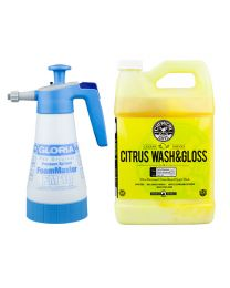 Chemicalguys.eu HOL321 Gloria FoamMaster Fm10 & Citrus Wash Gloss Gallon