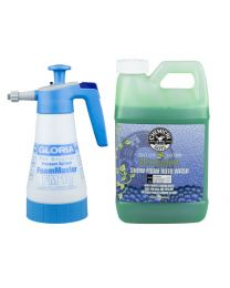 GLORIA FOAMMASTER FM10 AND HONEYDEW SNOW FOAM CAR WASH GALLON