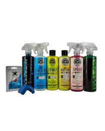 HOL_124 CHEMICAL GUYS STARTER CAR CARE KIT 7 ITEMS