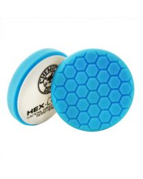 Carcare24.eu Hex-Logic Light Polishing Finishing Pad Blue 6.5 Inch
