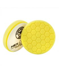 HEX LOGIC 6.5 INCH YELLOW HEAVY CUTTING PAD