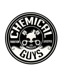 CHEMICAL GUYS LOGO STICKER CIRCLE (8 INCH / 203MM)