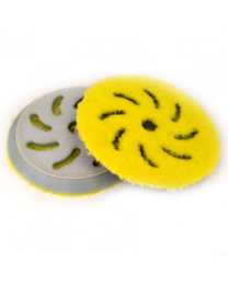 RUPES YELLOW MICROFIBER FINISHING PAD 100MM