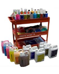 THE PROFESSIONAL ADVANCED AUTODETAILING TROLLEY KIT